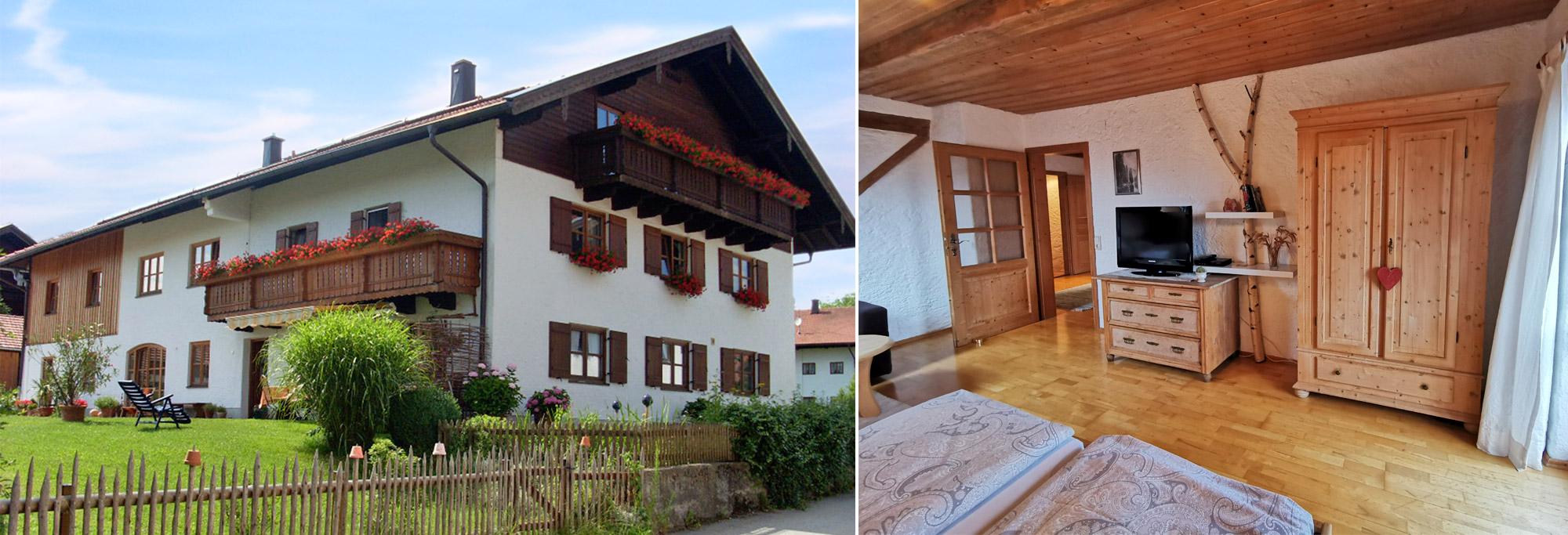 Ferienwohnung Monika Schartner in Meisham bei Eggstätt