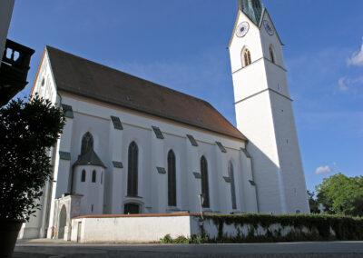 Die Kirche von Eggstätt | FeWo Schartner Eggstätt